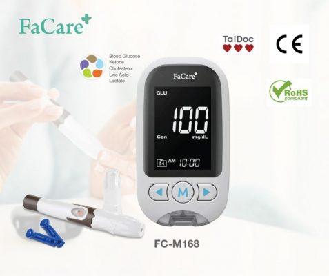 Máy đo đường huyết đa năng 5 trong 1 FaCare FC-M168