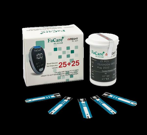 Que thử đường huyết dành cho máy đo đường huyết FaCare G168