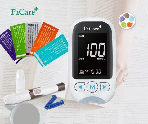 Máy đo đa thông số FaCare M168 đo mỡ máu, đo gout, đo đường huyết