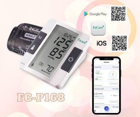 Máy đo huyết áp bắp tay P168