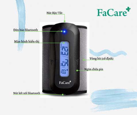 Máy đo huyết áp bắp tay không dây tự động P188