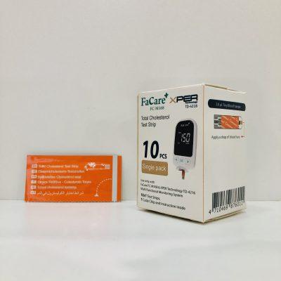 Que thử Cholesterol (mỡ máu) dành cho máy FaCare M168